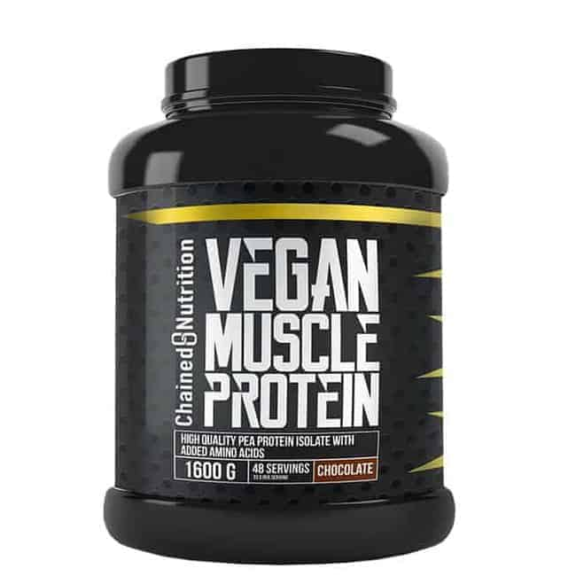 Vegan Muscle Protein test